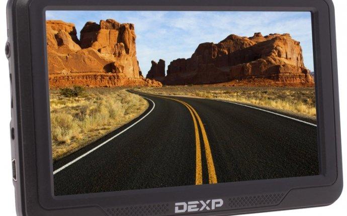 GPS навигатор DEXP Auriga DS501 | Автомобильные навигаторы