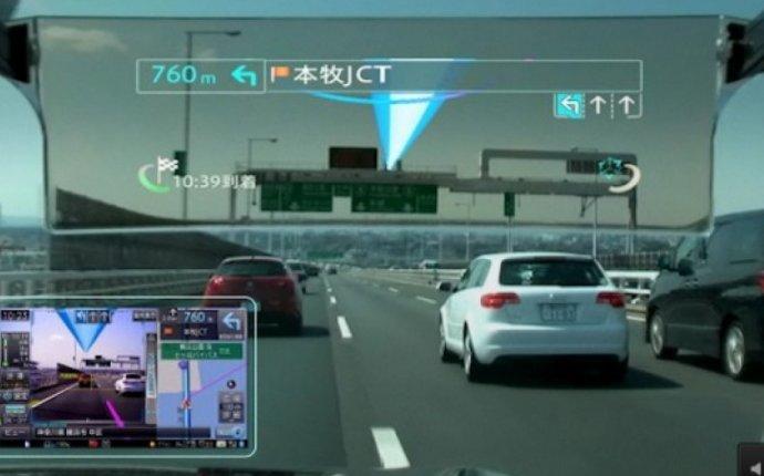 На рынке Японии появились навигаторы для авто с дополненной